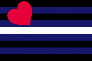LGBTIQ Fetish Expression Pride Flag - Leather
