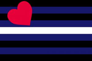 LGBTIQ Fetish Expression Pride Flag - Leather