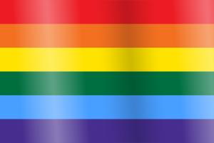 LGBTIQ Sexuality Pride Flag - Gay Rainbow LGB