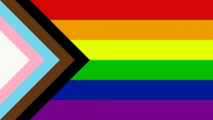 Black Brown Trans Progress Rainbow Pride Flag